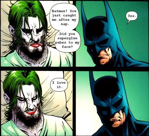 I'm Batman.. . Bataan! Tau just caught superglue pubes to my face? I'm Batman Bataan! Tau just caught superglue pubes to my face?
