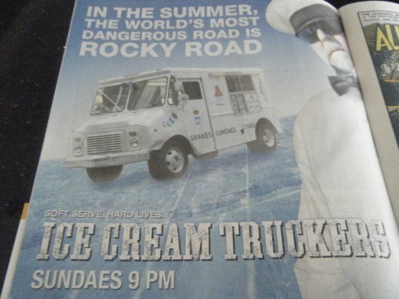 Ice Cream Truckers .. =]. SUNDAES , I Ill. MAD magazine is awesome! Ice Cream truckers lol