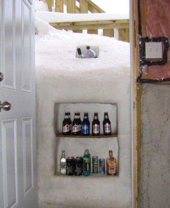 in alaska. .. who needs a fridge in alaska who needs a fridge