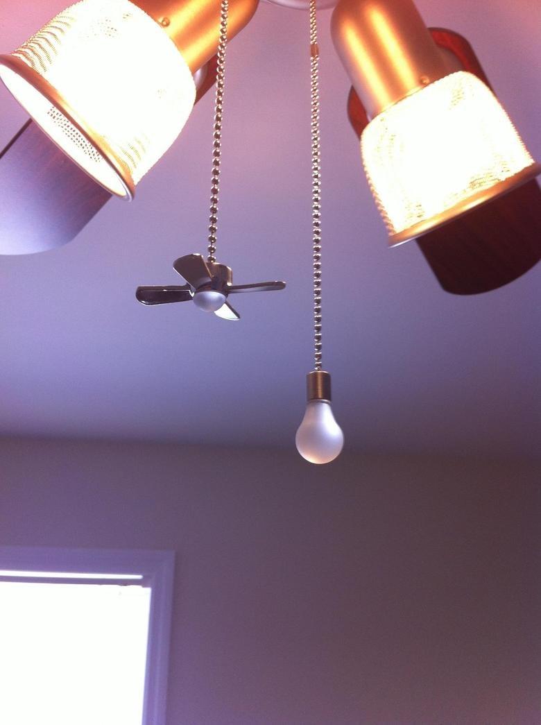 Intelligent title. Lightbulp to turn on ceiling fan, Ceiling fan to turn on light.. Intelligent title Lightbulp to turn on ceiling fan Ceiling light