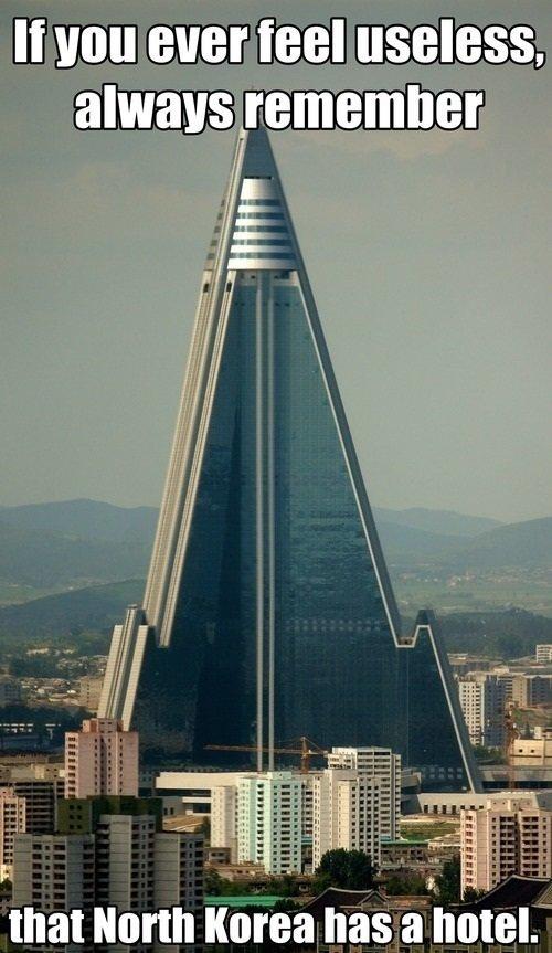 It's called Kim Jong Inn.. via:www.laughroulette.com/. 1 idioit — thallium mean. it looks the tip of a really fancy missile. It's called Kim Jong Inn via:www laughroulette com/ 1 idioit — thallium mean it looks the tip of a really fancy missile