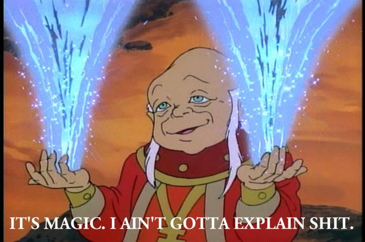 It's Magic. I ain't gotta explain .. IT' S MAGIC. I JUN 'T GOTTA EXPLAIN SHIT.. miracles. magic luigi is a cooler than a Mario