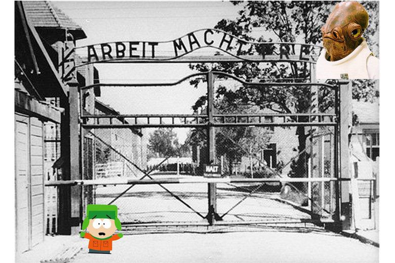 It's A Trap, Kyle. . EEN:. OMG!!! ITS A TRAP!!! Auschwitz ackbar