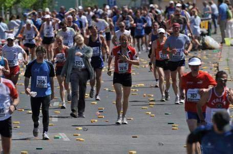 Marathon. .. that's Barney pim dicaprio