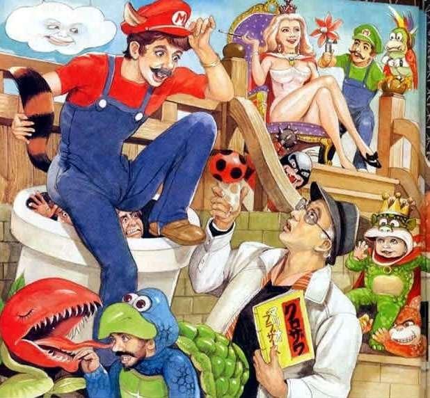 Mario on shrooms. More alternate art here!===>alternateartlives.blogspot.com/. Mario on shrooms More alternate art here!===>alternateartlives blogspot com/