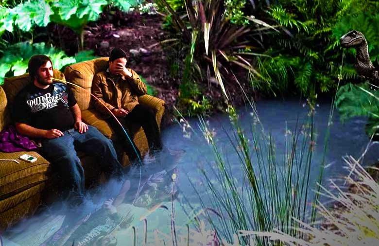 Master Piece. . water stream sofa drink raptor lazy