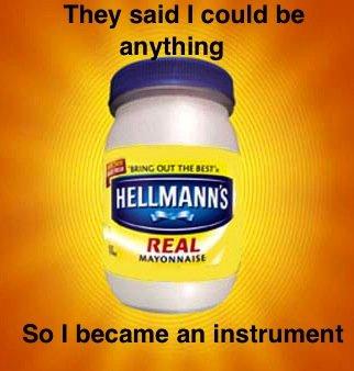 mayonnaise. . HEEL lassie Hun mayo