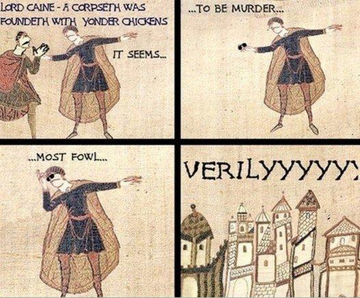 Medieval csi. .