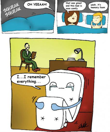 Memory Foam. . Memory Foam