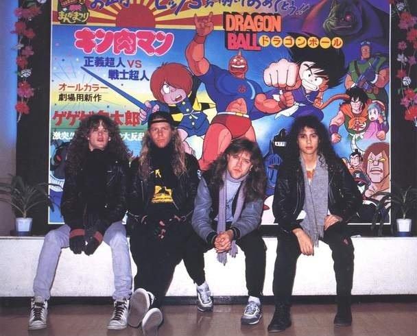 Metallica and Dragon Ball. . metallica