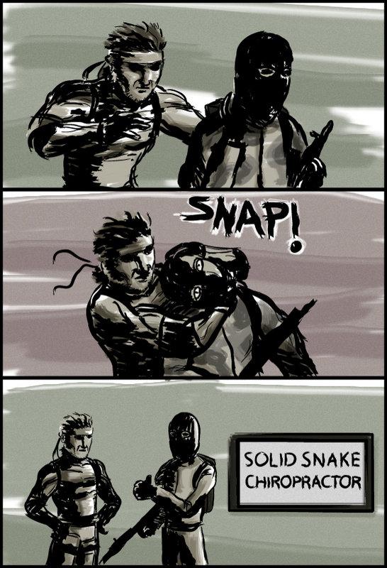 MGS. .. Snake Stop Kidding around.... Snake? SNAKEEEEEEEEEEEEEEEEEEEEEEEEEe thumbs up