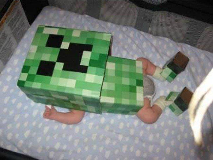 Minecraft Win. . my dad fucked a monkey so here i am