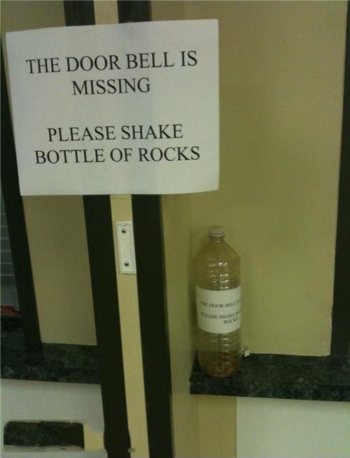 Missing Door Bell. . Missing Door Bell