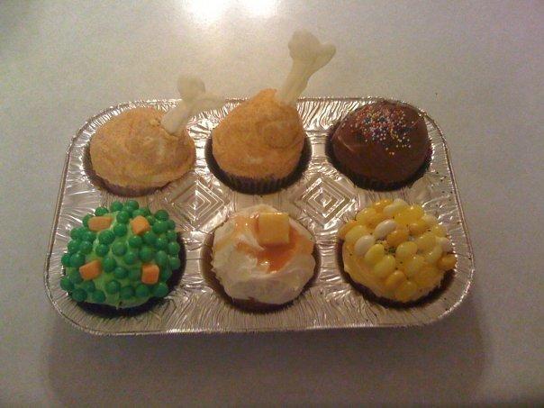 Mmmmmmmmmmmmm. Delicious cupcakes. Chicken meal delicious id eat that win
