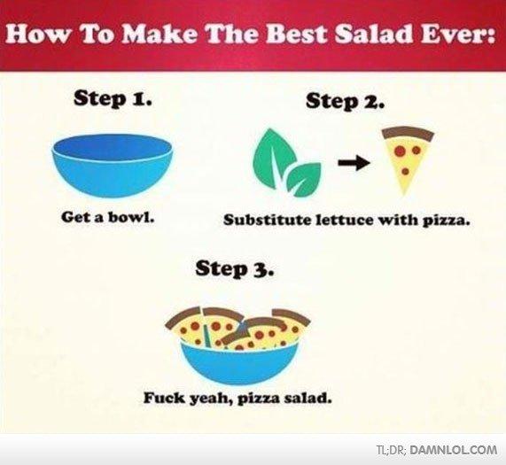 Mmmmmmmmmmmmmmm........ . How To Make The Best Salad Ever: WEE; DAMN LOLCOW Mmmmmmmmmmmmmmm How To Make The Best Salad Ever: WEE; DAMN LOLCOW