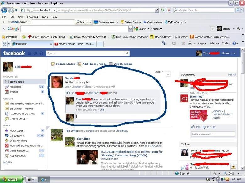 MOAR ATTENTION. LOL facebook! .. Windows XP.... Nice Stupid lul facebook fail troll lolwtf