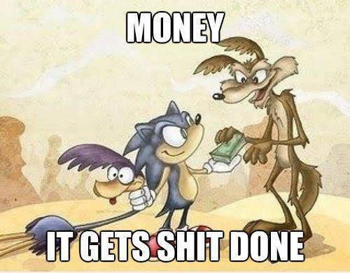 Money and Teamwork. . Money and Teamwork