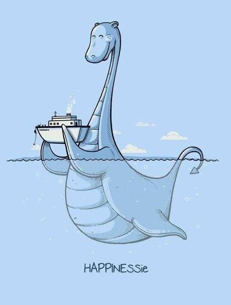 Monster of Loch Ness. . loch ness monster happyness Happynessie