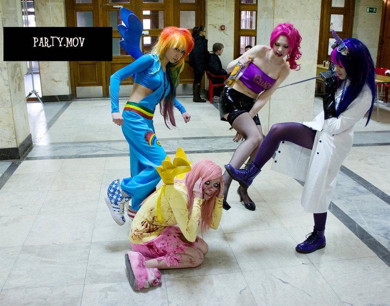 mov. cosplay. . mlp mov my littl