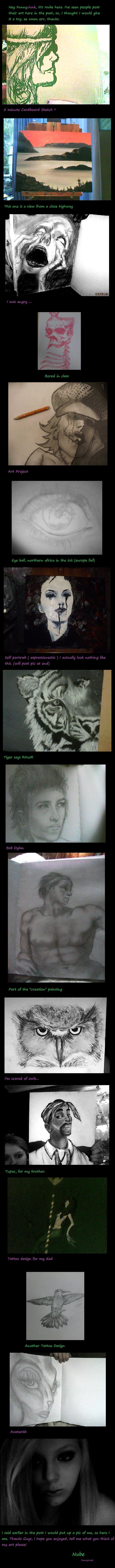 My Art. Art, funfunfun...tell me what you thinkkk, I will take requests!. Art