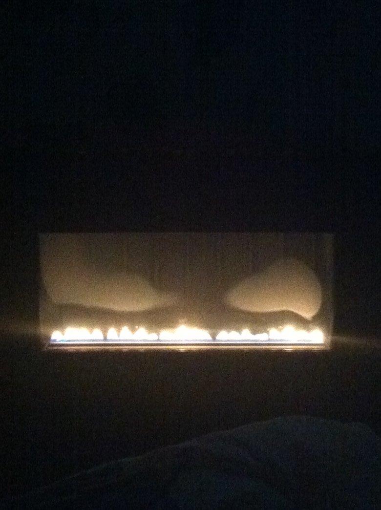 My fire looks like gengar. .. mfw My fire looks like gengar mfw