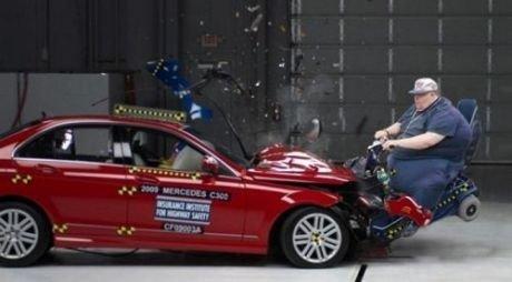 Ultimate crash test. .. WOOOO my car is the same model
