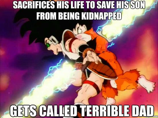 Unappreciated Goku. Tags are inspiring.. ill muffin button