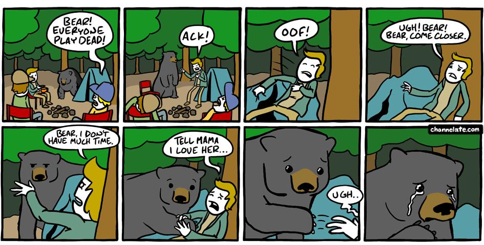 Unbearable. Souce: . Unbearable Souce: