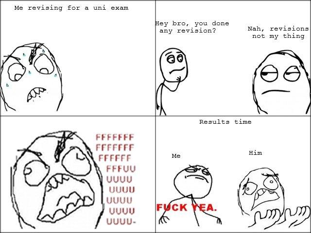 Uni exam. .