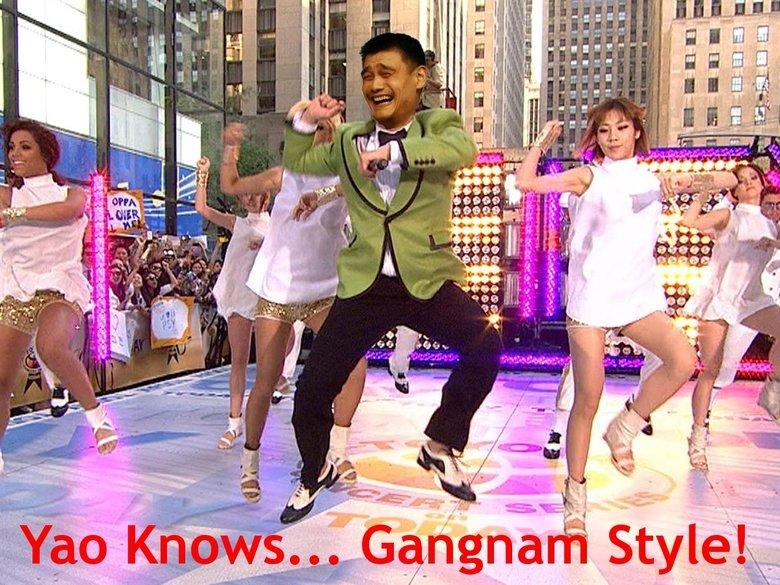 Yao Knows... Gangnam Style!. Yao Knows Gangnam Style!. yao ming knows gangnam style