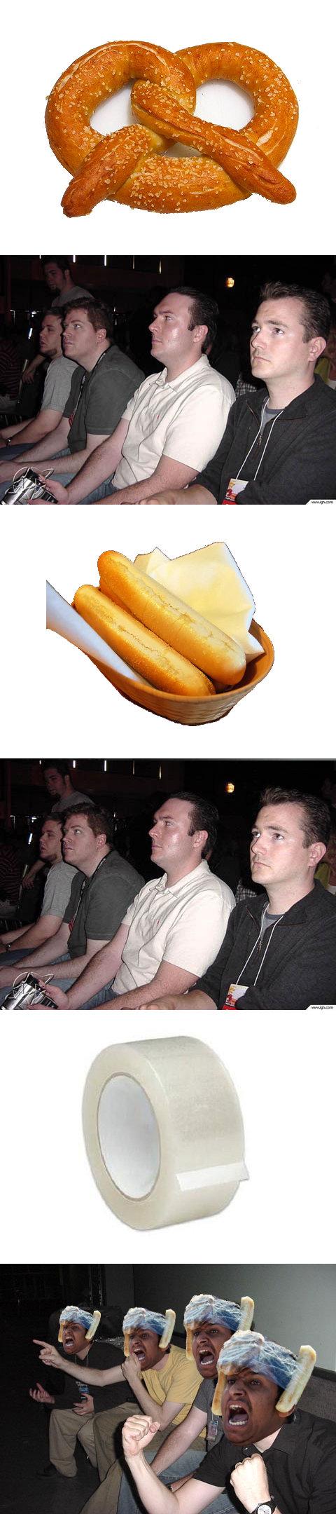 yeaaa. .. Ha! yeaaa breadstick man