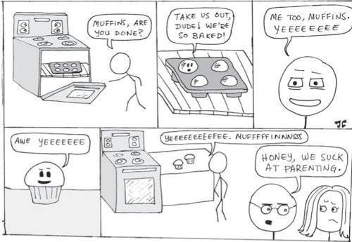 Yeeeeee, muffins. .. Have we seen this before? Awwww Yeeeeeea! Yeeeeee muffins Have we seen this before? Awwww Yeeeeeea!
