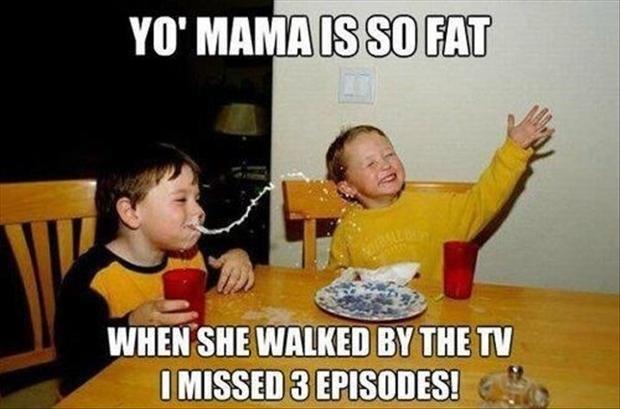 "Yo mama joke. .. Episodes of ""Lost"" 1 Episode per Week Yo mama joke Episodes of ""Lost"" 1 Episode per Week"