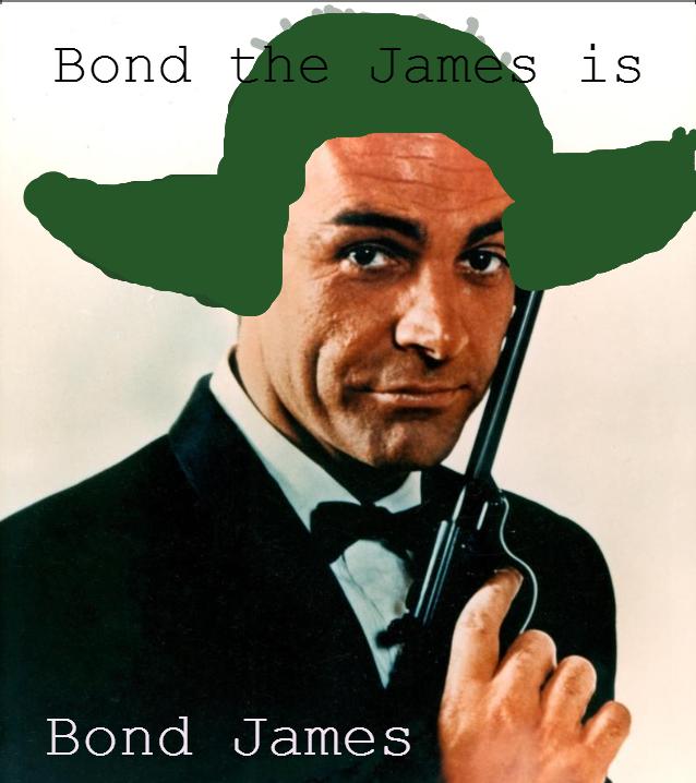 Yoda. i know, my paint skills begin where the charts end.. ngeco bond Yoda