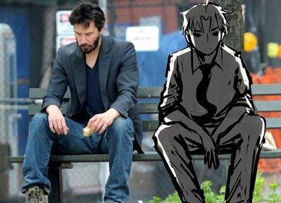 You look so grim, Hisao. For the Katawa Shoujo fans.. hahaha that's pretty clever Katawa Shoujo visual novels and shit