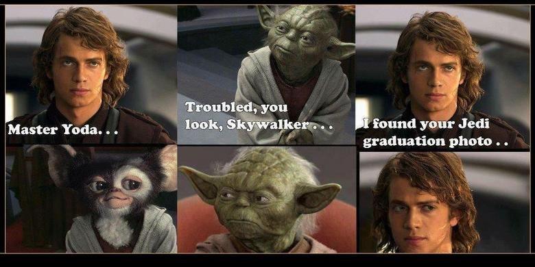 young Yoda. . n photo . q. Doesn't matter, Yoda's still one smooth . young Yoda n photo q Doesn't matter Yoda's still one smooth