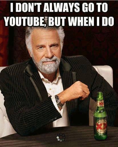 Youtube. buffer me baby. I DON' T III] youtube