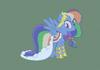 mlp Gala Dresses - RainbowDash