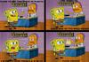 Spongebob and credit cards