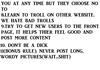 10 commandments of funnyjunk
