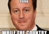 Scumbag David Cameron
