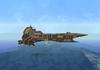 Futuristic Battle Cruiser
