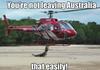 Australia keepin Australia, Australia