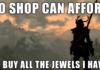 First world Skyrim problems.