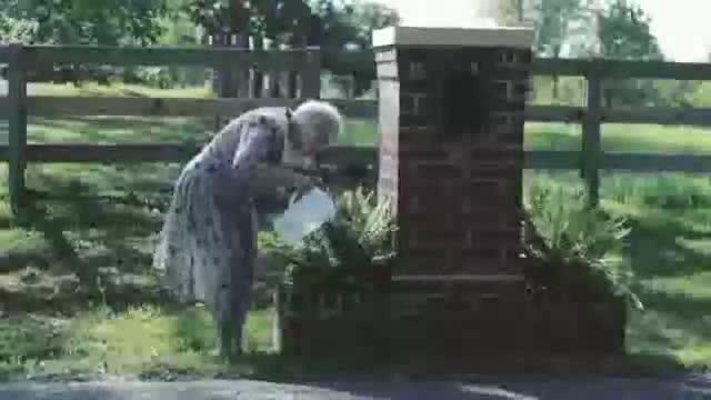 pewpew. grandma being awesome.