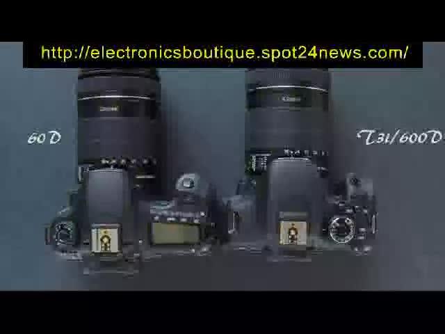 Electronics Boutique present Canon Eos R. Electronics Boutique present Canon Eos Rebel T3i .