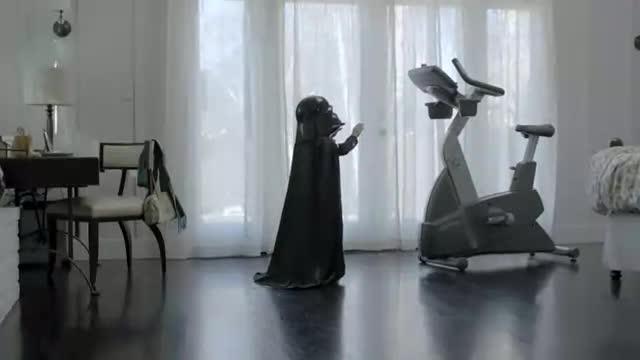 Darth Vader Super Bowl Commercial. .. I'm gonna buy a 20k car so I can make my kid brix :D