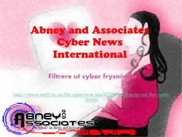"""Filtrere ut cyber frysninger. Abneyand Associates Cyber News International- Hvis du har prøvd deg på onlinedating, OkCupid stil, du vil bli kjent med """"Matc"""