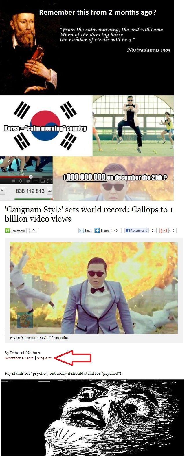 "1 billion views!. internet prophecy: fulfilled. ara' l' ibrl' ' lerl this Hem 2 months as :3? ille MINI, !tsmall P 1333112313 "" Gangnam Style' sets world record 1 billion views! internet prophecy: fulfilled ara' l' ibrl' ' lerl this Hem 2 months as :3? ille MINI !tsmall P 1333112313 "" Gangnam Style' sets world record"