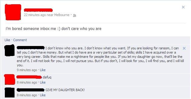 (1) Facebook. . (1) Facebook